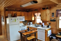 Kitchen in Lazy Bear Cabin