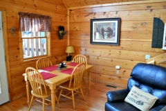 Lazy Bear Cabin Dining Room