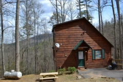 Lazy Bear Cabin Vacation Front